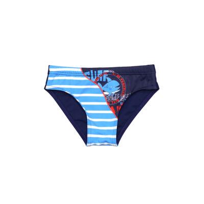 Kék halas fiú úszó