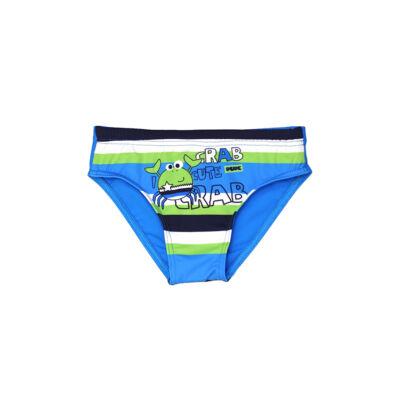 Rákos kék fiú úszó