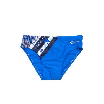 Kék fiú úszó