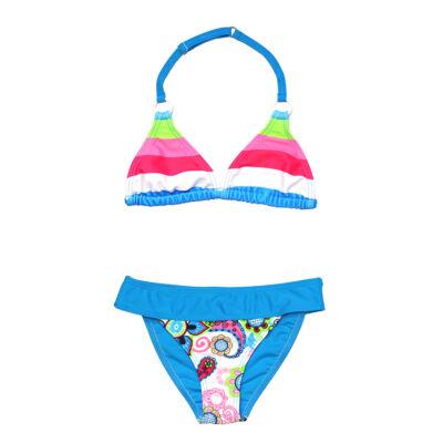 Színes csíkos bikini