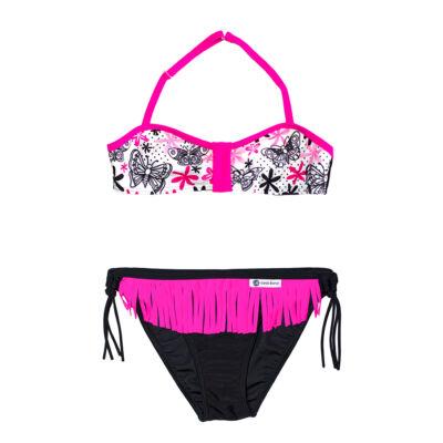 Lepkés bikini - fekete