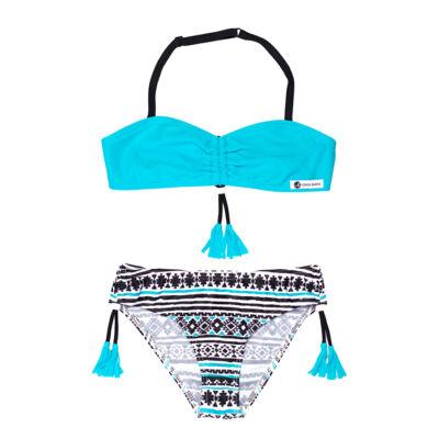 Kék inka mintás bikini