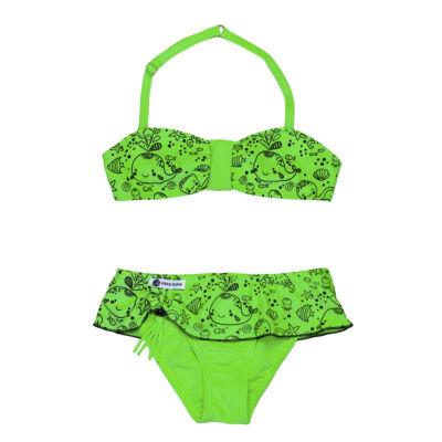 Neon zöld bálnás bikini