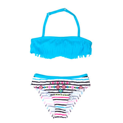 Indián lányos kék bikini