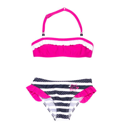 Pink fodros bikini