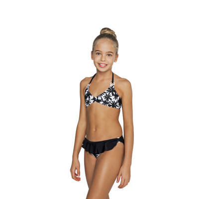 Fekete pálmafás bikini