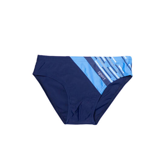 Kék sportos fiú úszó