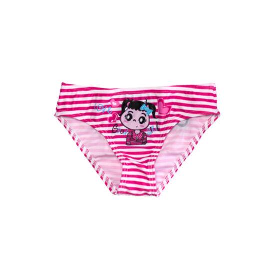 Pink kislányos fürdőbugyi