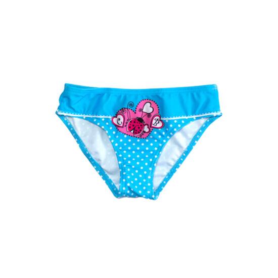 Kék katicás fürdőbugyi