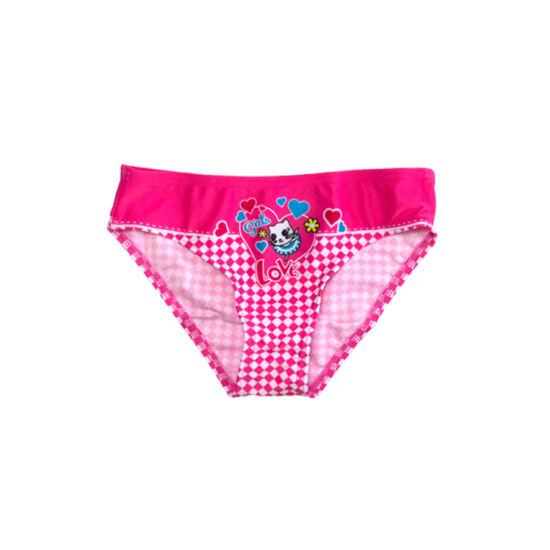 Cicás pink fürdőbugyi