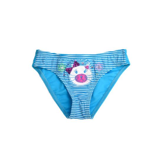 Kék cicás fürdőbugyi - flitteres
