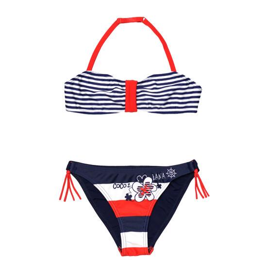 Csíkos tengerészes bikini