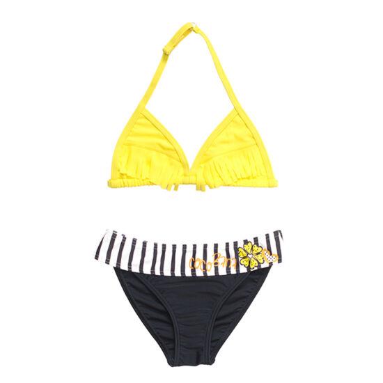 Sárga rojtos bikini