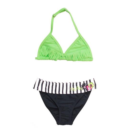 Zöld rojtos bikini