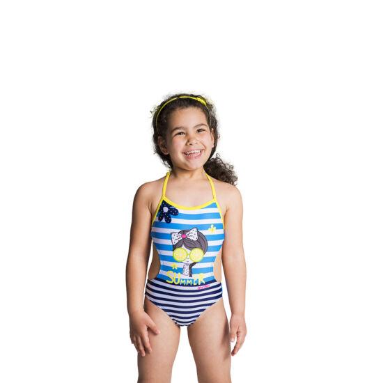 Kislányos egyrészes fürdőruha