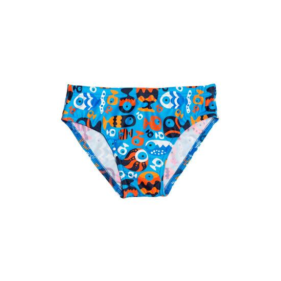 Halas mintás kisfiú úszó