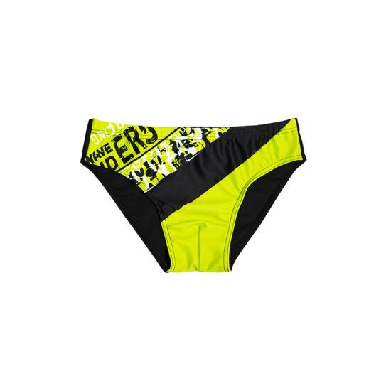 Neonzöld csíkos fiú úszó