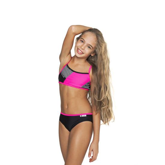 Pink sportos bikini